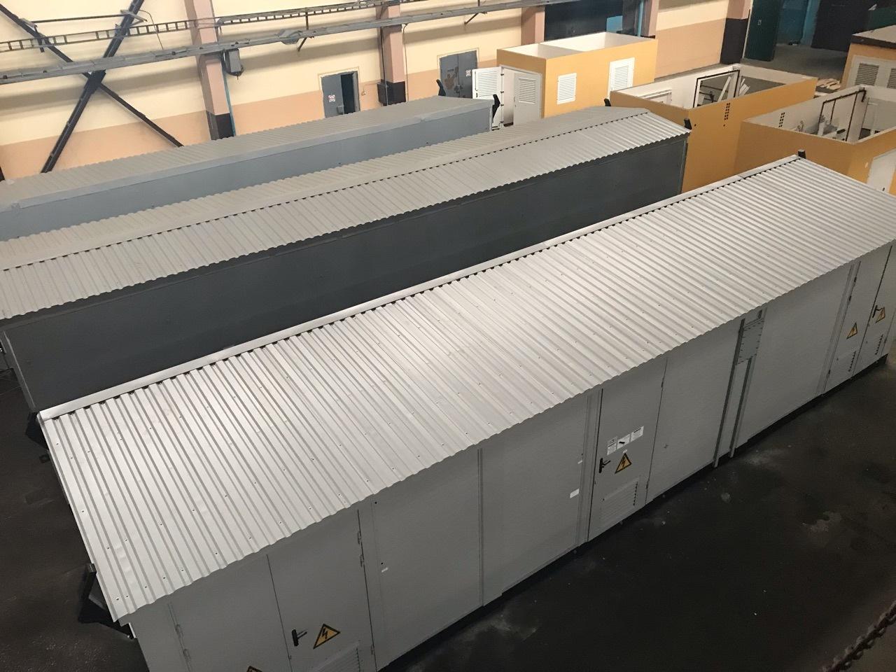 Трансформаторная подстанция в утепленной оболочке 2КТПУБ-630 для нужд ООО «Пурнефтепереработка» (в структуре НК «Роснефть»)