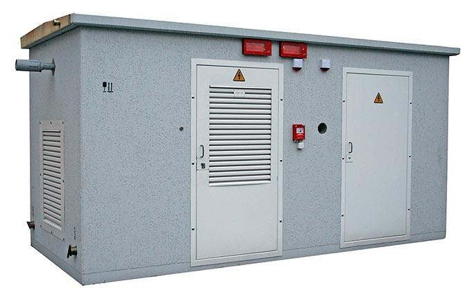 Дизельная электростанция блочная в бетонной оболочке типа ДЭСБ