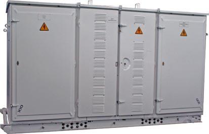 КТПТАС мощностью 63…400 кВА с компенсацией реактивной мощности
