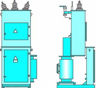 КТПОС мощностью 25…63 кВА, напряжением 6 (10) кВ