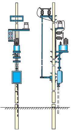 МТПЖ мощностью 1,25…10 кВА, напряжением до 27,5 кВ